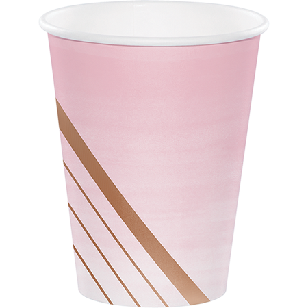 *Rose All Day Paper Cups