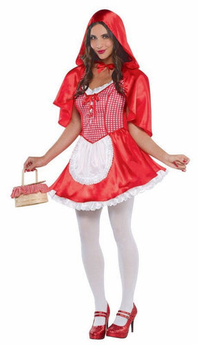 Deluxe Red Riding Hood Small Adult
