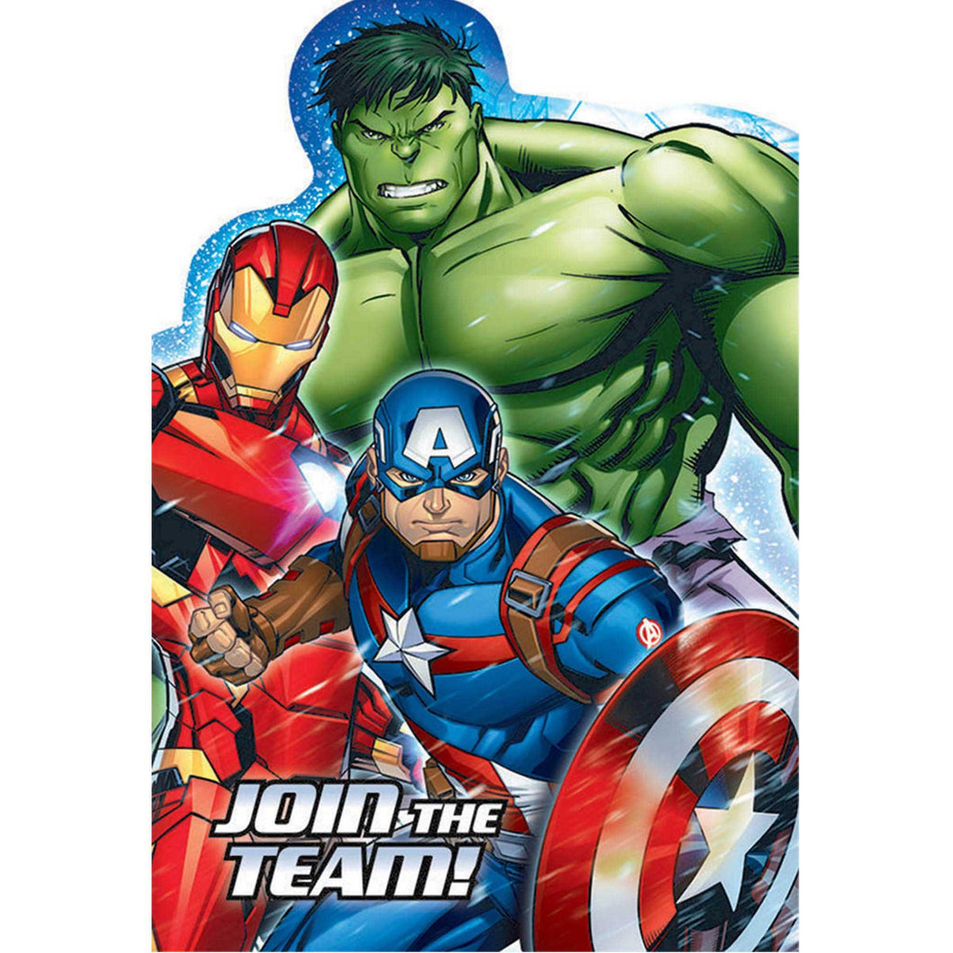 *Avengers Epic Postcard Invitations
