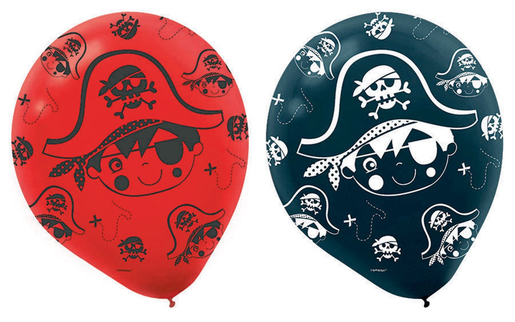 Little Pirate Latex Balloons