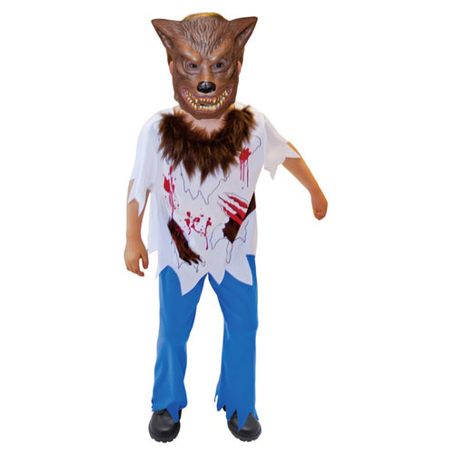 Werewolf Boy Costume Large- Child