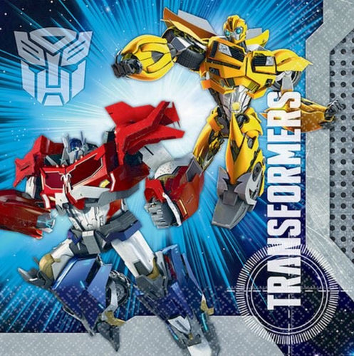 *Transformers Core Lunch Napkins