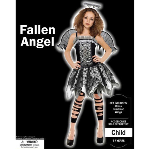 Costume Fallen Angel Girls 8-10