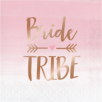 *Rose All Day Bride Tribe Lunch Napkins