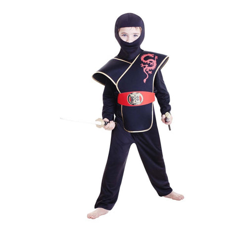 Deluxe Ninja Boy Large 6-8 Yrs