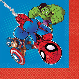 *Marvel Super Hero Adventure Lunch Napkins