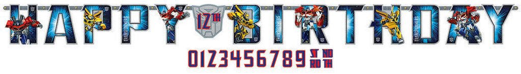 *Transformers Core Jumbo Add-Any-Age Banner
