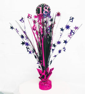 18th Pink Celebration Centrepiece Spray