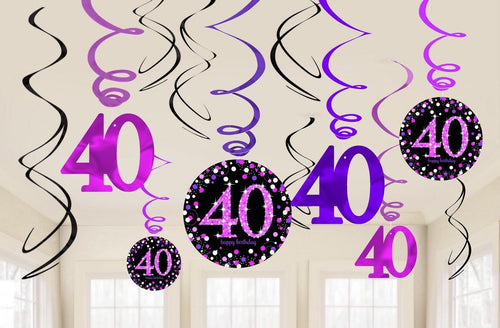 Pink Celebration 40 Swirl Value Pack