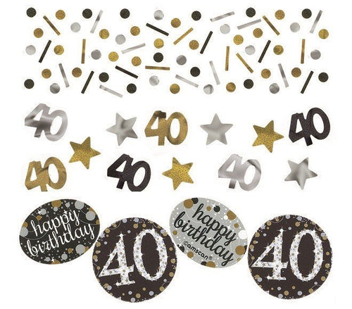 Sparkling Celebration 40th Confetti 34g