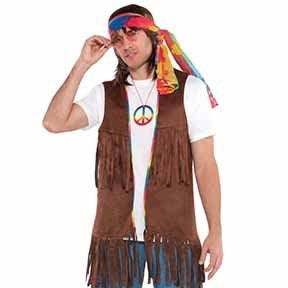 Hippie Vest Long - Mens