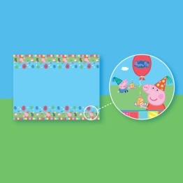 Peppa Pig Tablecover Plastic