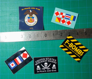 Maritime Stickers!