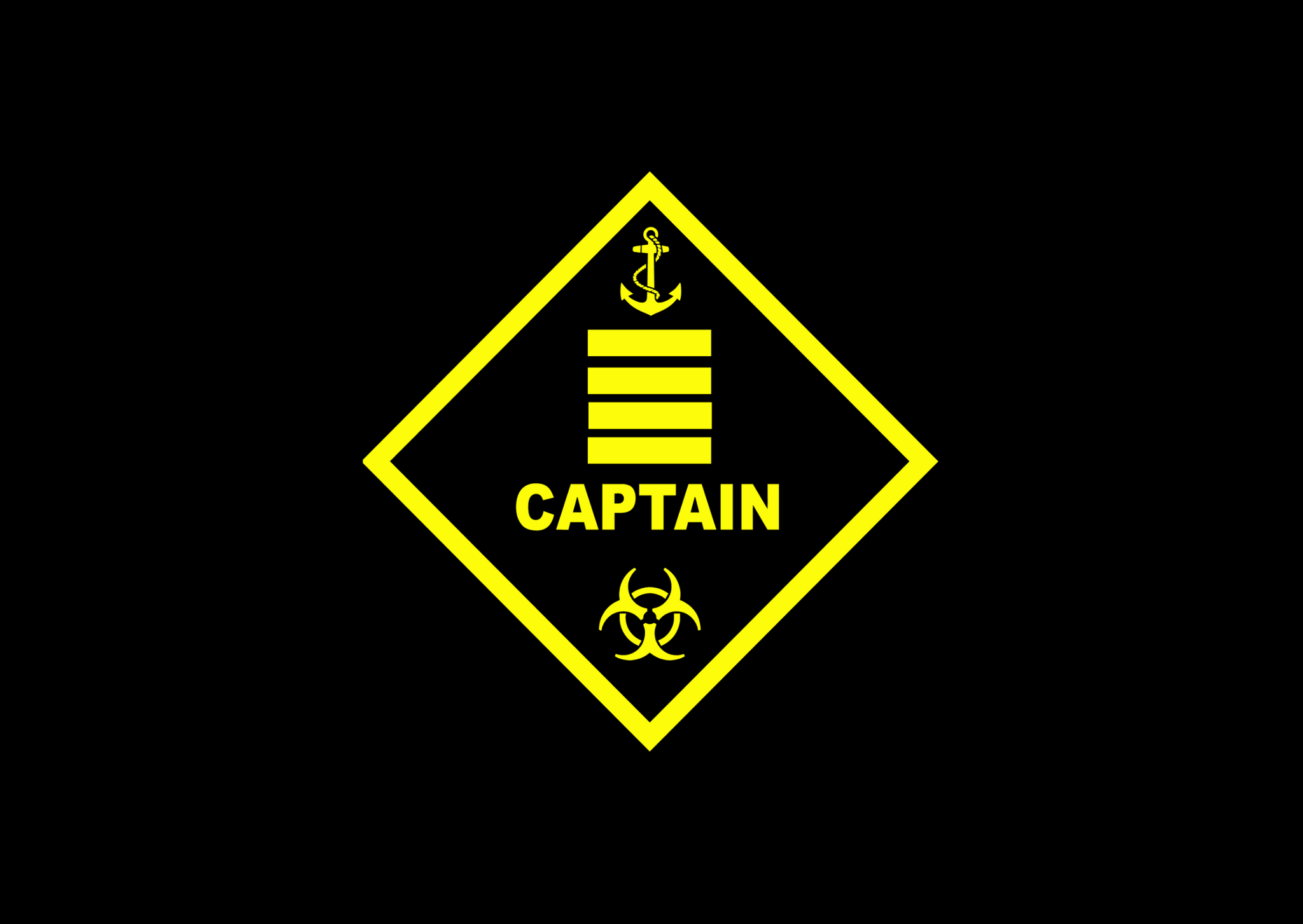 Captain Warning Plaque