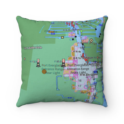 Fort Lauderdale Square Pillow