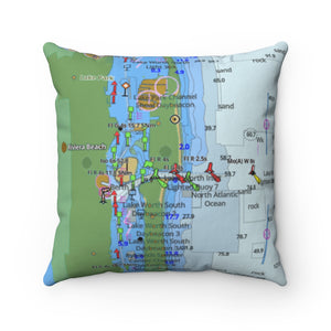 Palm Beach Square Pillow