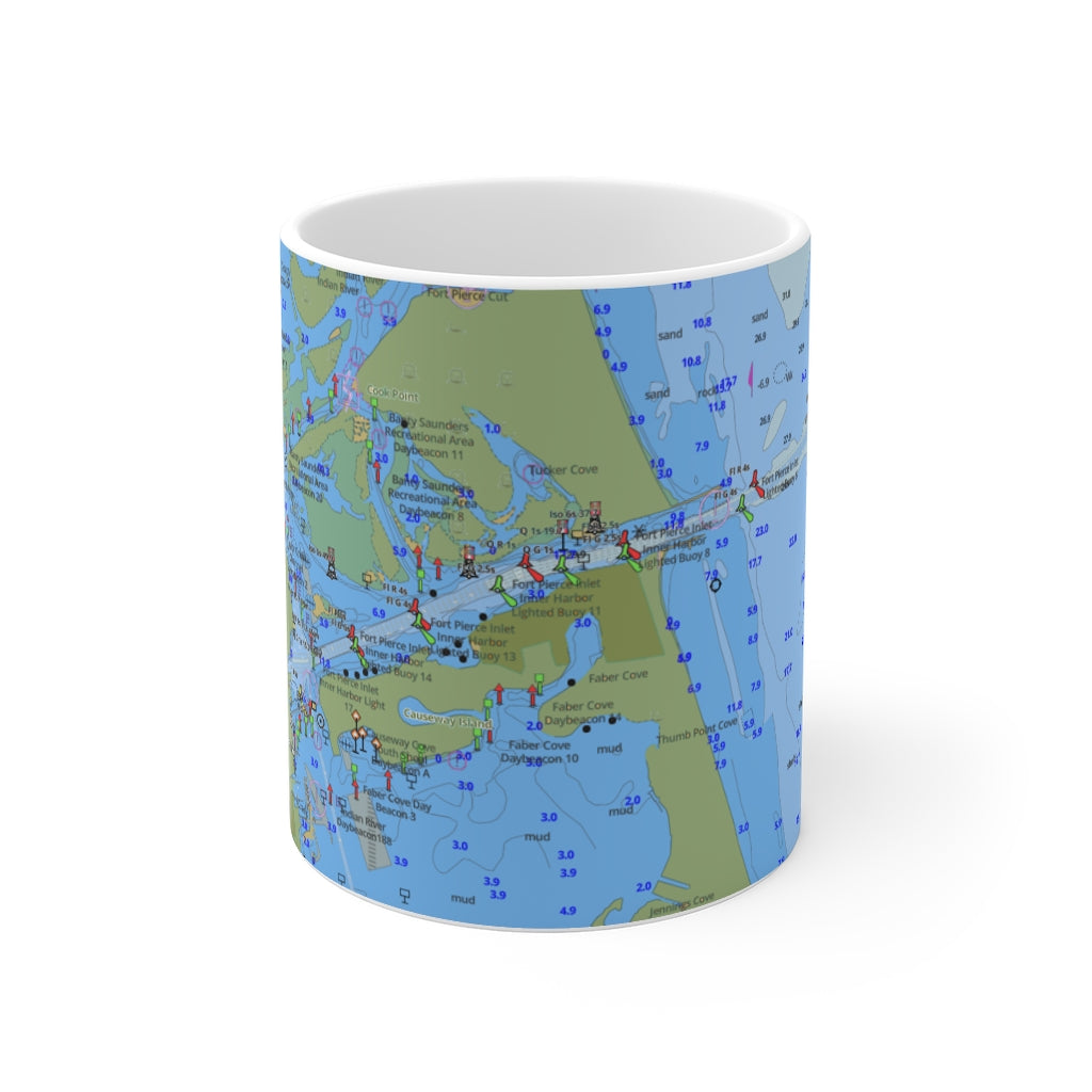 Fort Pierce Mug 11oz