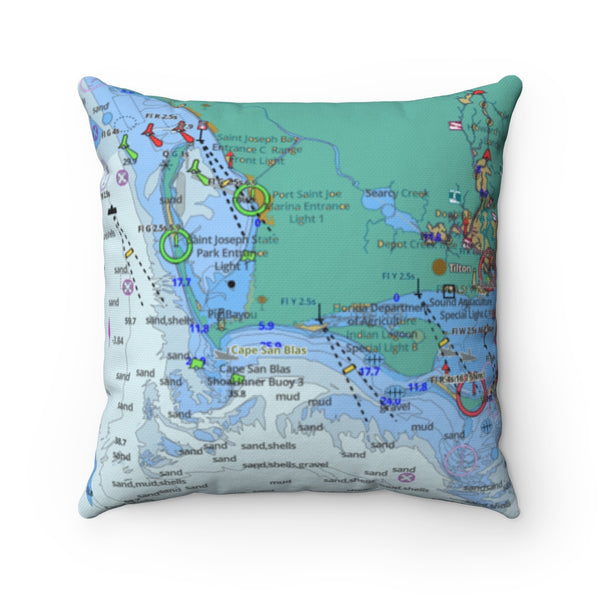 Port Saint Joe Square Pillow