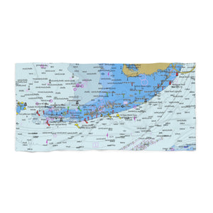 Florida Keys Beach Towel