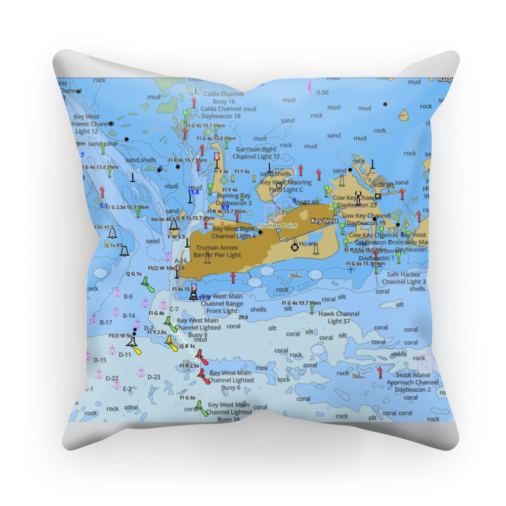 Key West Sublimation Cushion Cover