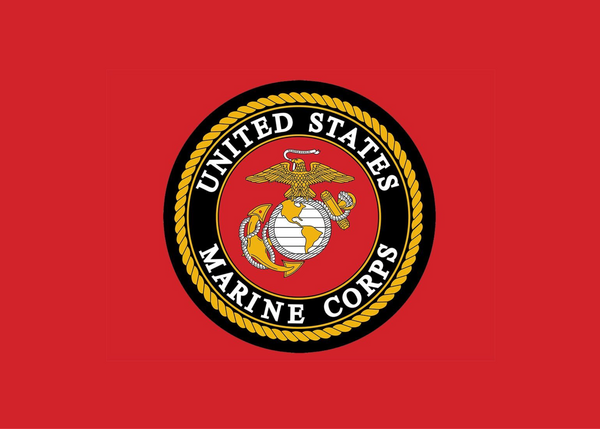 Marine Corp Red Mask