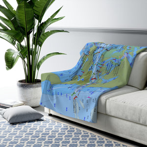 Fort Pierce Sherpa Fleece Blanket