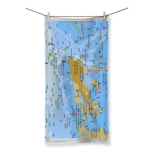 Key West Sublimation All Over Towel