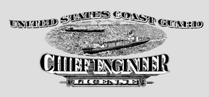 Chief Engineer Plaque
