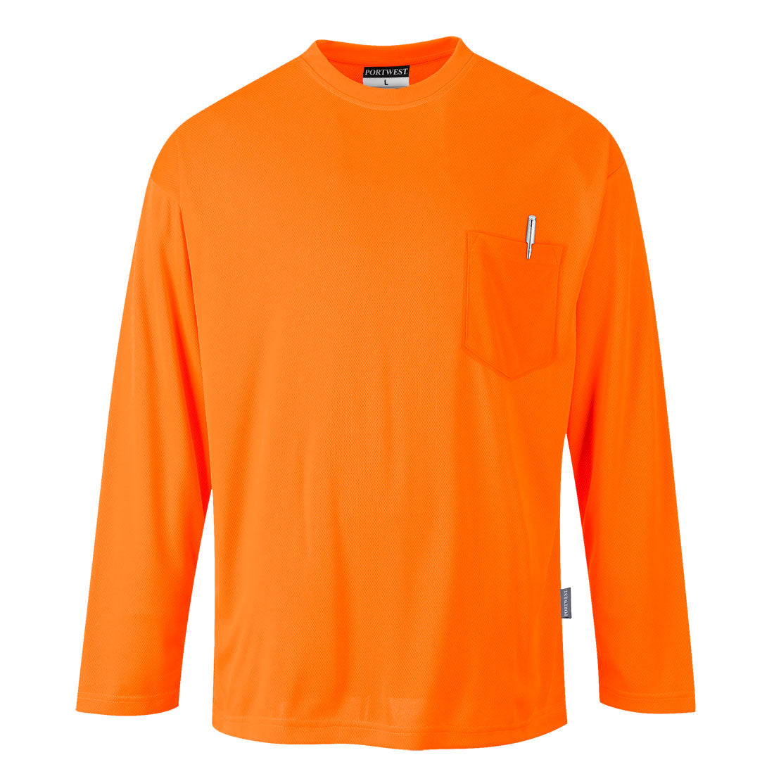 Portwest S579 Non ANSI Pocket Long Sleeve T-Shirt