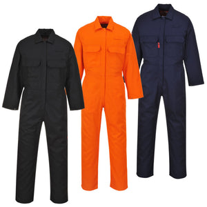 UBIZ1 Portwest  Bizweld Dual Hazard Flame Resistant Protective Coverall
