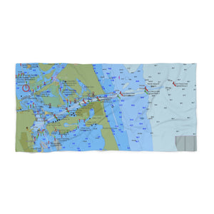 Fort Pierce Beach Towel