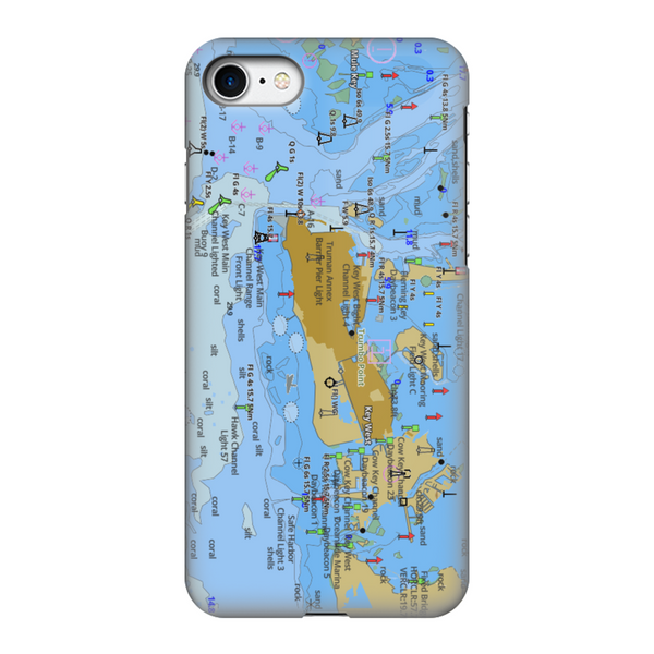 Key West Fully Printed Tough Phone Case
