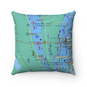 Cape Canaveral Square Pillow