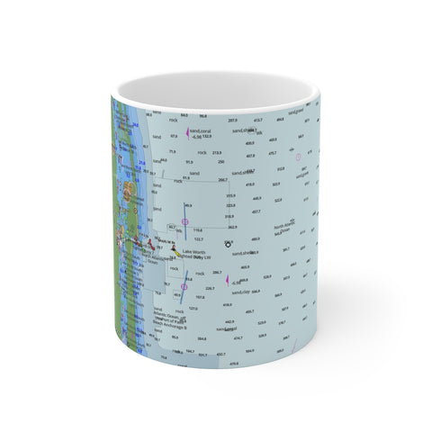 Palm Beach Mug 11oz
