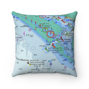 Destin Square Pillow