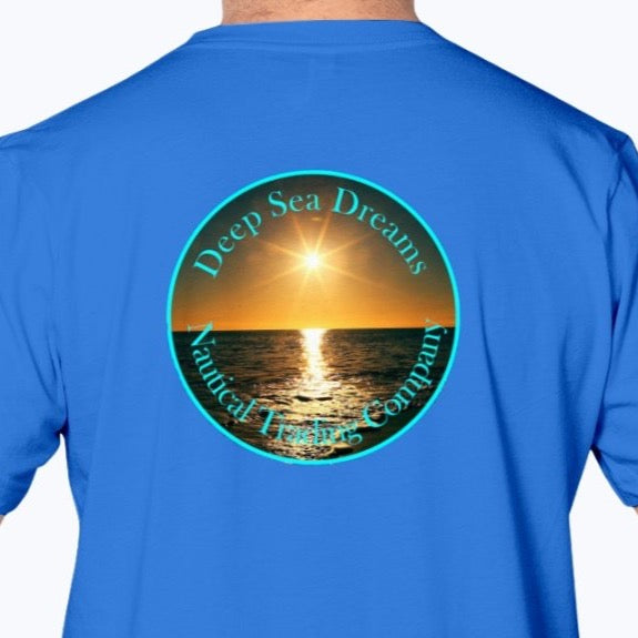 Sunset Deep Sea Dreams Nautical Trading Company (back)