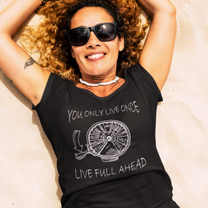 Live Full Ahead   T-Shirt (F)