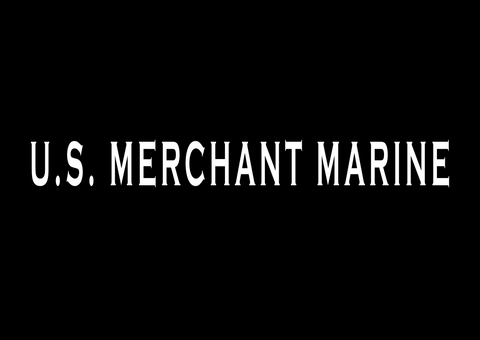 U.S. Merchant Marine Decal  - Buy 1, 2nd 1/2 Price