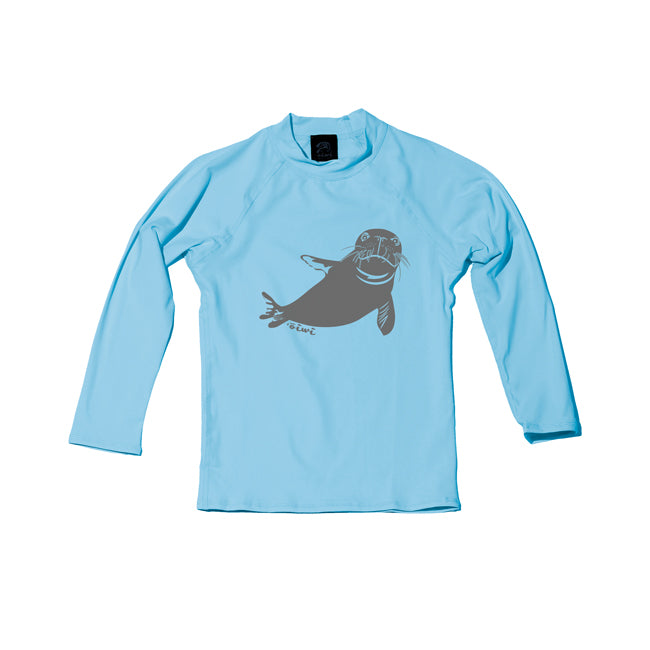 Hawaiian Monk Seal TODDLER Long Sleeve UPF 50+ SHIRT - Oiwi