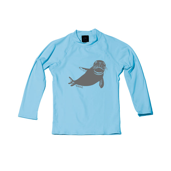 Hawaiian Monk Seal TODDLER Long Sleeve UPF 50+ SHIRT - 'Ōiwi