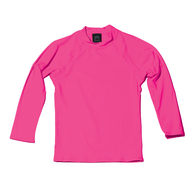 KEIKI LONG SLEEVE UPF 50+ SHIRT in BRIGHT PINK - Oiwi