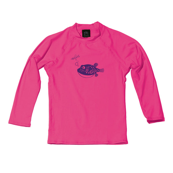 Puffer Fish TODDLER Long Sleeve UPF 50+ Shirt - Oiwi