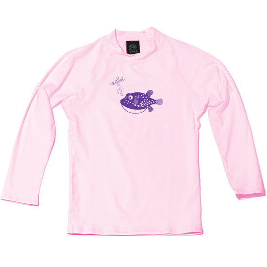 Puffer Fish Toddler UPF 50+ Shirt - Oiwi