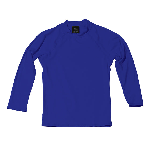 TODDLER LONG SLEEVE UPF 50+ SHIRT in ROYAL BLUE - Oiwi