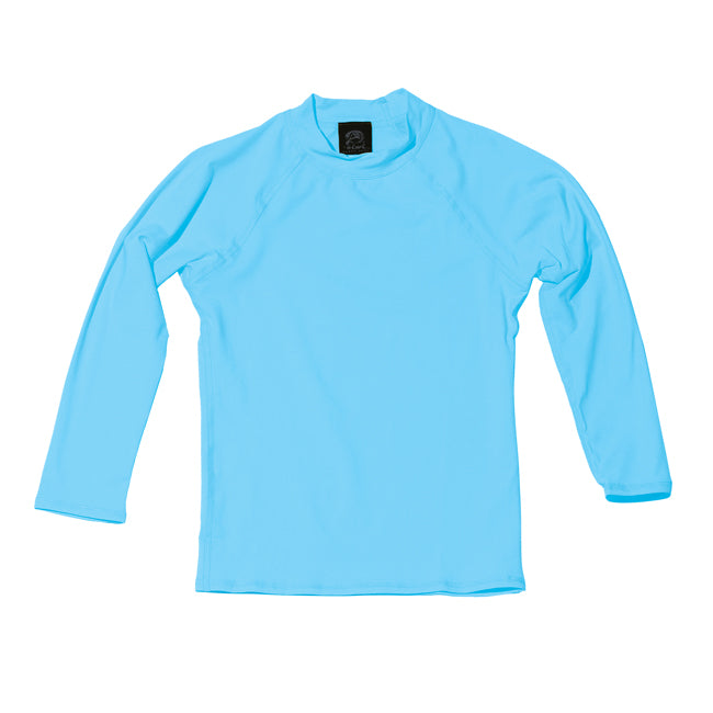 TODDLER LONG SLEEVE UPF 50+ SHIRT in LIGHT BLUE - Oiwi