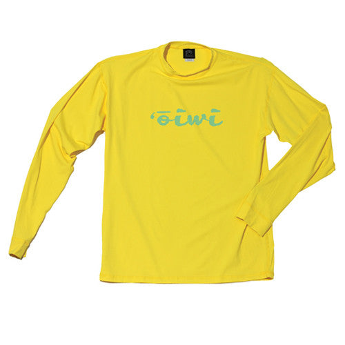 Archipelago Yellow Long Sleeve UPF 50+ Jersey - Oiwi