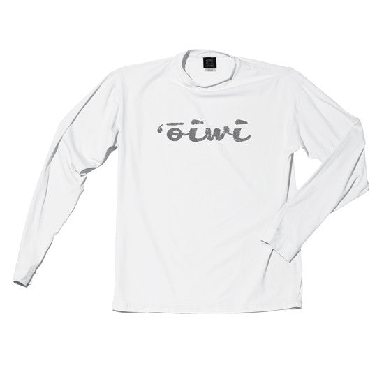 'Ōiwi Logo Long Sleeve UPF 50+ Shirt