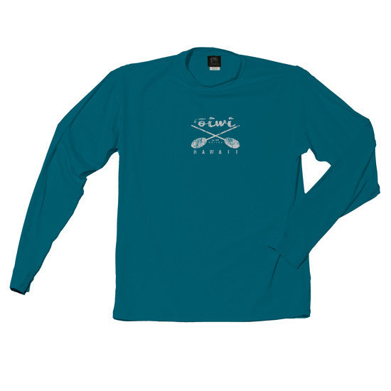 Cross Paddles Long Sleeve UPF 50+ Shirt