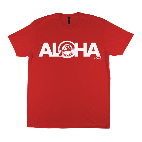 Aloha Kane T-shirt in Red