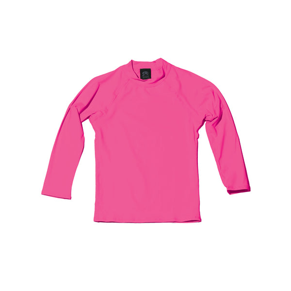 BABY UPF 50+ Shirt in BRIGHT PINK - 'Ōiwi